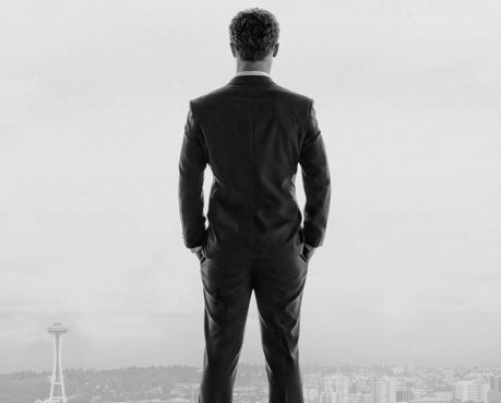 """""""Mr. Grey will see you now"""": 50 Shades promotional poster"""