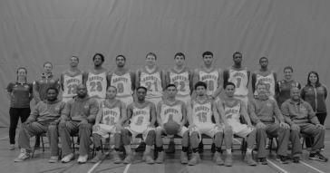 John Abbott's men's Basketball team photo. Source: johnabbott.qc.ca