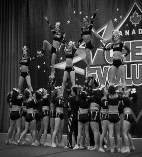 Tamara's Cheerleading team