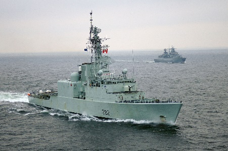 The no longer sea-worthy HMCS Athabaskan Source: forces.gc.ca