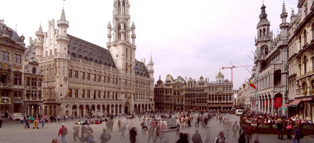 La Grande Place, Brussels. Source: Wikipedia